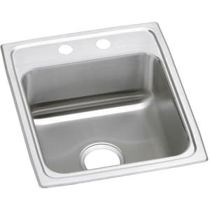 Elkay Gourmet Pacemaker® 1-Bowl Stainless Steel Kitchen Sink EPSR1720