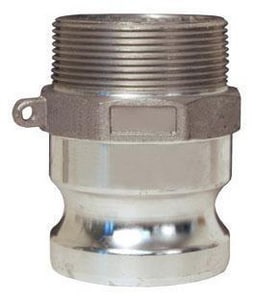 Dixon Valve & Coupling MNPT x Male Stainless Steel Adapter DGFSS