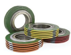 Lamons Gasket SpiraSeal® Styles 4 in. 150# 304 Carbon Steel Graphite Gasket LSCSB040B