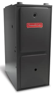 Goodman DualSaver™ 24-1/2 in. 95% AFUE 5 Ton Two-Stage Upflow and Horizontal 3/4 hp Natural or LP Gas Furnace GGMH955DX