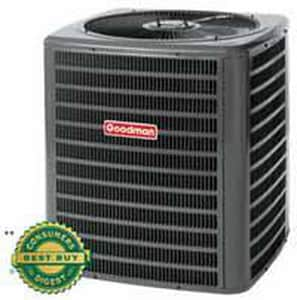 Goodman 3T 16 SEER R410A 1 Phase Split Air Conditioner GSSX160361