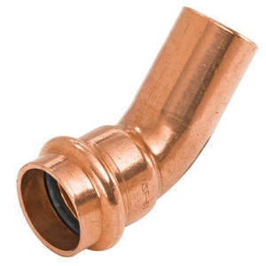 Nibco FTG x Press Copper 45 Degree Elbow NPC6062
