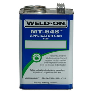 IPS Corporation Empty Metal Gallon Can Mt648 I10010