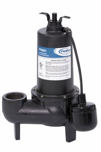 PROFLO® 1/2 HP Cast Iron Sewage Pump With Float Switch PF93501