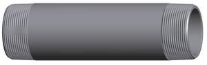 3/8 in. Threaded Galvanized Extra Heavy Seamless Nipple GXSNC
