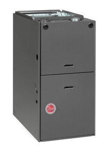 Rheem 1/2 hp 80% AFUE 2-Stage Upflow Horizontal Gas Furnace RGPQEAMER
