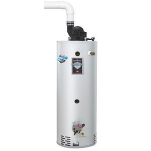 Bradford White Combi2™ 75 gal. Combination Corrugated Natural Gas Through the Wall Water Heater BCDW2TW75T10BN