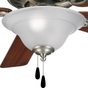 Progress Lighting Trinity 40W 3-Light Candelabra Base Ceiling Fan Light Kit PP262881