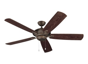 Monte Carlo Fan Company Cyclone 83.29W 5-Blade Ceiling Fan with 60 in. Blade Span M5CY60