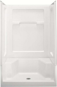 Sterling Advantage™ 48 x 35-1/4 in. Shower End Wall Set in White S620351000