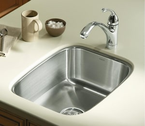 Sterling Plumbing Group Springdale® 16 x 20 in. Single Bowl Undercounter Kitchen Sink No Hole S11449NA