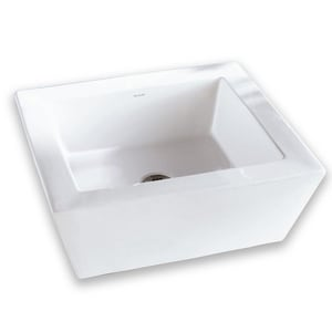 DECOLAV® Classically Redefined™ 18 in. Rectangular Vitreous China Above Counter Lavatory with Overflow D1432C