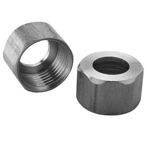 JB Products 3/8 in. Lavatory Supply Nut Brass J1215A