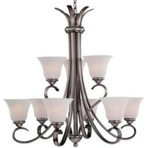 Seagull Lighting Rialto 9-Light Decorative Chandelier S31362