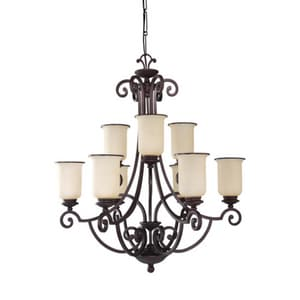 Seagull Lighting Acadia 32-1/4 in. 9-Light Chandelier S31147814
