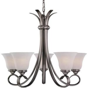 Seagull Lighting Rialto 100 W 5-Light Decorative Chandelier S31361