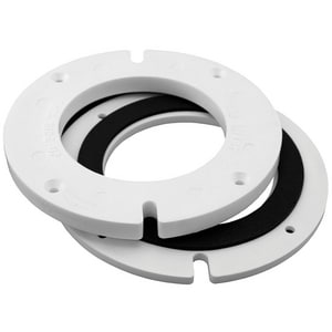 Jones Stephens 1/4 - 1/2 in. Closet Flange Extension with Gasket JC88502