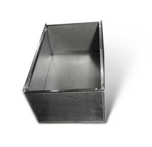 Lukjan Metal Products 21 x 28 in. Galvanized Furnace Box SHMFB2128