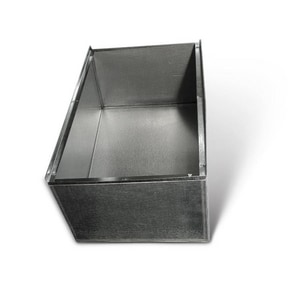 Lukjan Metal Products 14 x 28 in. Galvanized Furnace Box SHMFB1428
