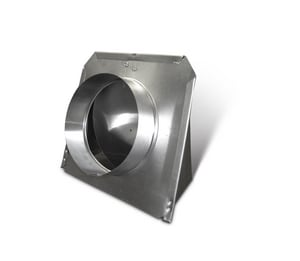 Lukjan Metal Products Dryer Vent Aluminum SHMDVH