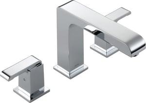 Delta Faucet Arzo® 3-Hole Double Brass Lever Handle Deckmount Roman Tub Faucet (Trim Only) DT2786