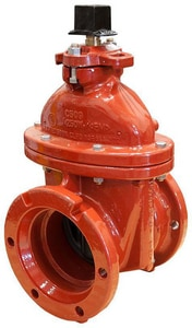 Mueller A-2362 Series Mechanical Joint Ductile Iron Open Left Resilient Wedge Gate Valve MA236223OL