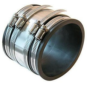 Fernco Cast Iron and Plastic Flexible Coupling F105642RC