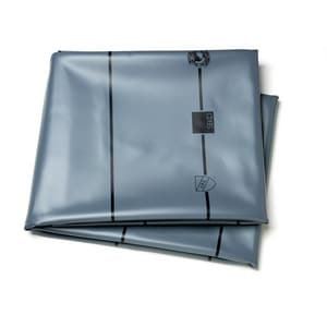 Oatey 5 ft. PVC Shower Pan Liner in Grey O4162