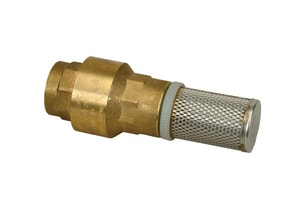 PROFLO® Bronze Foot Valve with Stainless Steel Strainer PFBFV