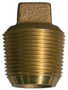 A.Y. McDonald CC Brass Plug M73206