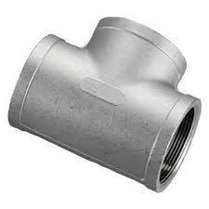 Socket 316 Stainless Steel Tee DS6L3ST