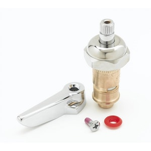 T&S Brass Right Hot Cartridge with Bonnet and Lever T01244425