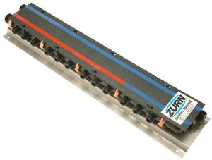 Qest QickPort® 100 psi Plastic MPT 1 x 1/2 in. Valve Manifold QQPPM9H15C3