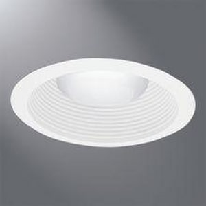 Halo Lighting Baffle Trim Torsion Spring in White HERT713WHTTS