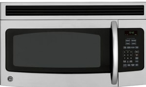 General Electric Appliances Spacemaker® 1.5 cf 15-1/4 in. Over-The-Range Microwave in Stainless Steel GJVM1540SMSS