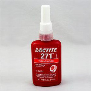 Loctite Threadlocker High Strength Cement in Red L2711