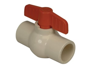 PROFLO® PFCBV Series CPVC Reduced Port Solvent Weld Ball Valve PFCBV