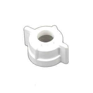 Jones Stephens 1/2-14 x 1/2 in. Plastic Lavatory Coupling Nut JB10105
