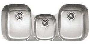 Franke Consumer Products Regatta 3-Bowl Undercounter Kitchen Sink FRGX170
