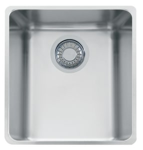 Franke Consumer Products Kubus 1-Bowl Undermount Kitchen Sink in Stainless Steel FKBX11013