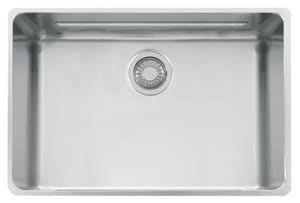 Franke Consumer Products Kubus 3-1/2 in. 1-Bowl Undermount Kitchen Sink FKBX11021