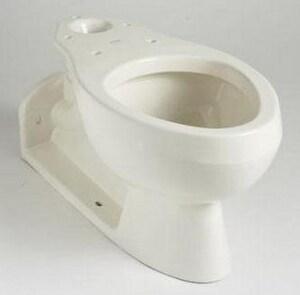 Kohler Barrington Elongated Floor Mount Toilet Bowl In