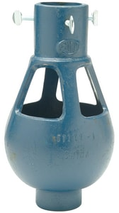 Zurn Industries 1-1/2 x 2 in. Cast Iron Fixed Air Gap in Blue ZZ10252