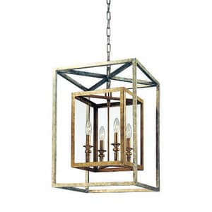 Troy-CSL Lighting Acadia 7-3/4 in. 60 W 4-Light Candelabra Pendant TF9994GSL