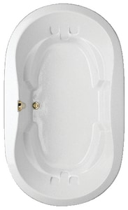 Hydro Systems 60 x 32 in. Tub and Shower with Left Hand Drain HSAV6644AWP