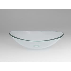 Ronbow Boat Tempered Glass Vessel R420522