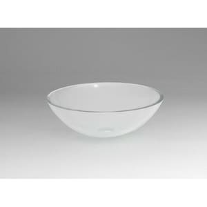 Ronbow Round Tempered Glass Vessel R420102