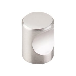 Top Knobs Nouveau 3/4 in. Cabinet Knob in Brushed Satin Nickel TM579