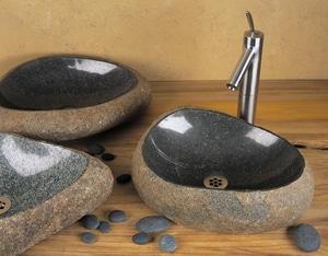 Stone Forest Wabi 5 x 12 in. Single Bowl Station Vessel Sink SC27