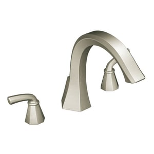 Felicity® 3-Hole 19 gpm Roman Tub Faucet Trim with Double Lever Handle MTS243